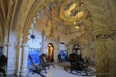 Por18067-Buçaco - Pałac - wnętrze częsci hotelowej