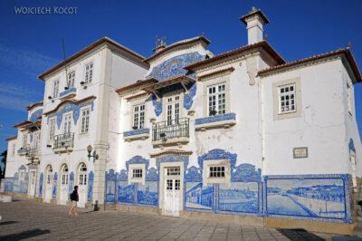 Por18098-Aveiro - Budynek Dworcowy