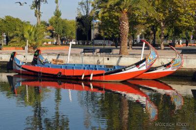Por19025-Aveiro - łodzie jak wVenecji