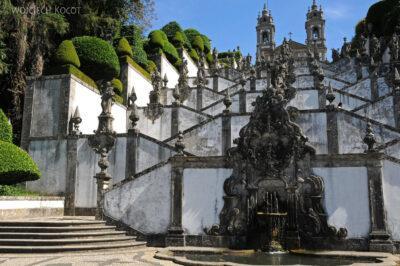 Por19060-Braga - Bom Jesus - Schody doKlasztoru nagórze