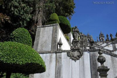 Por19076-Braga - Bom Jesus - Schody - detale