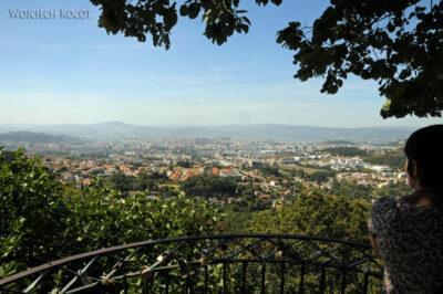 Por19089-Braga - widok namiesto zgóry klasztornej