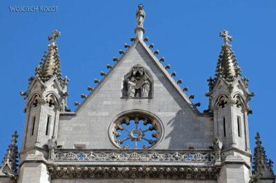 Por20054-Leon - Katedra - detale fasady zachodniej