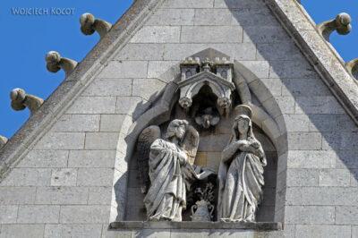 Por20057-Leon - Katedra - detale fasady zachodniej
