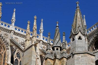 Por20064-Leon - Katedra - detale fasady południowej