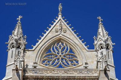 Por20070-Leon - Katedra - detale fasady południowej