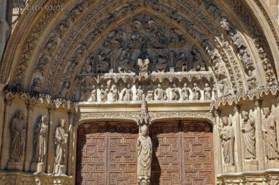 Por20074-Leon - Katedra - wejście południowe