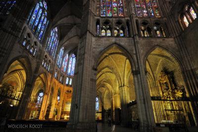 Por20095-Leon - Katedra - wnętrze