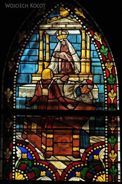 Por20115-Leon - Katedra - witraże
