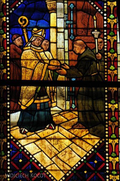 Por20118-Leon - Katedra - witraże