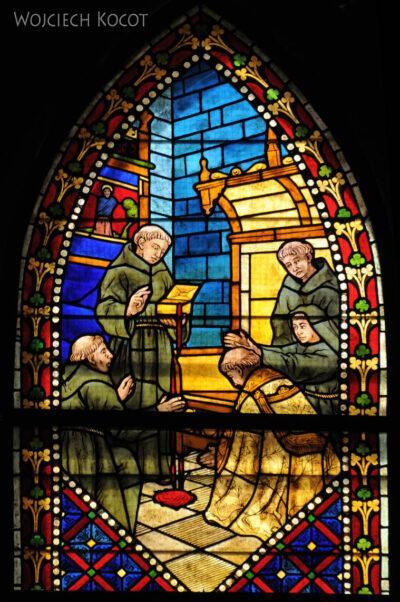 Por20120-Leon - Katedra - witraże