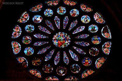 Por20121-Leon - Katedra - witraże