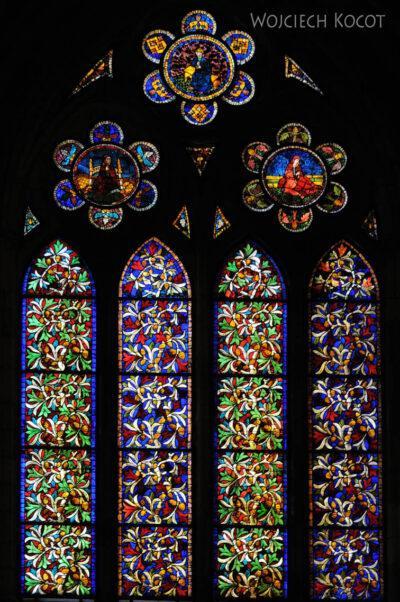 Por20129-Leon - Katedra - witraże