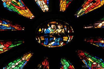 Por20134-Leon - Katedra - witraże