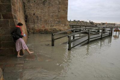 Por22009-Przypływ naMont-Saint-Michel