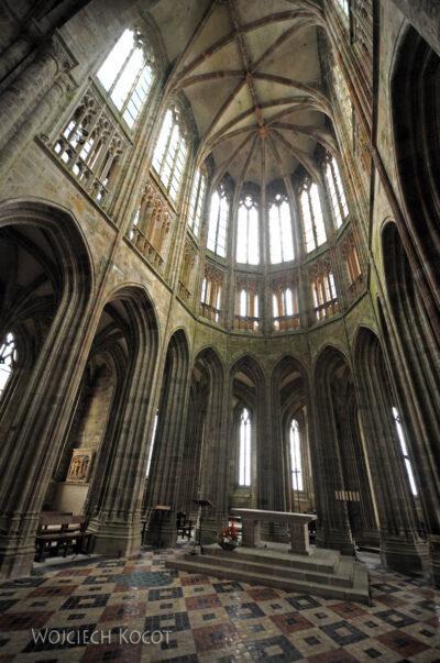 Por22041-Saint-Michel - Kościół Opactwa - wnętrze