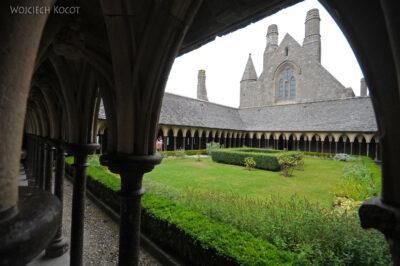 Por22048-Saint-Michel - Górny Dziedziniec iKrużganki