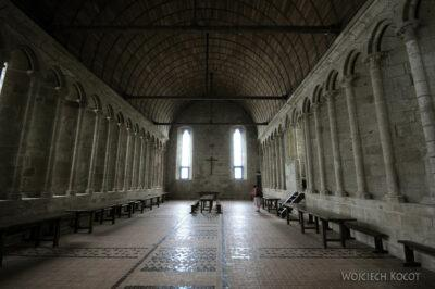 Por22051-Saint-Michel - wnętrza klasztorne