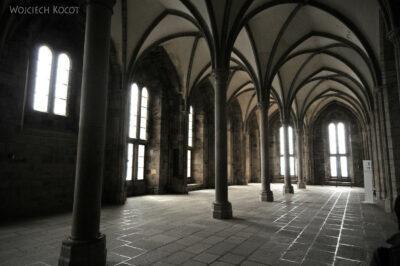 Por22052-Saint-Michel - wnętrza klasztorne