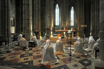 Por22057-Saint-Michel - Kościół Opactwa - wnętrze