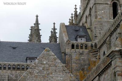 Por22063-Mont-Saint-Michell - zabudowania klasztorne