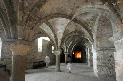 Por22073-Saint-Michel - wnętrza klasztorne