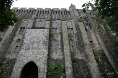 Por22082-Mont-Saint-Michell - zabudowania klasztorne