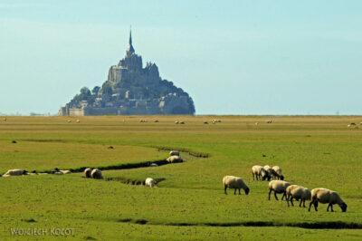 Por22103-Le Mont-Saint-Michel - widok odwschodu