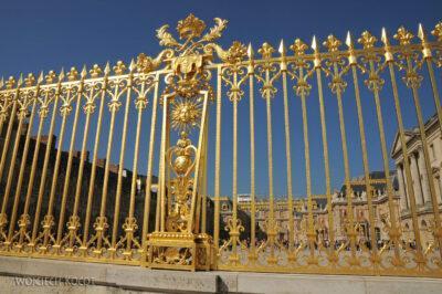 Por24007-Wersal - Brama Pałacowa