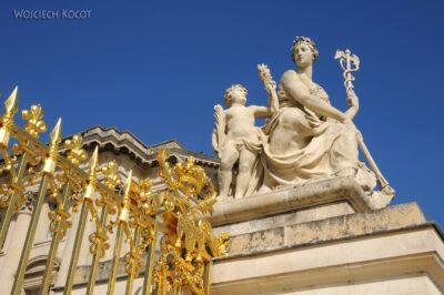 Por24012-Wersal - Brama Pałacowa