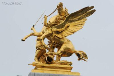 Por23049-Paryż - Point Alexandre III - detale