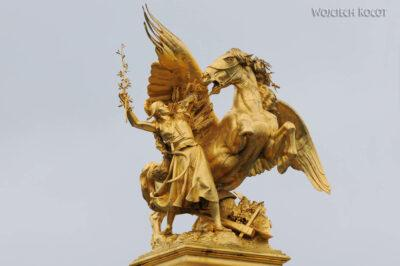 Por23055-Paryż - Point Alexandre III - detale