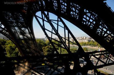 Por23102-Paryż - Widoki zWieży Eifla
