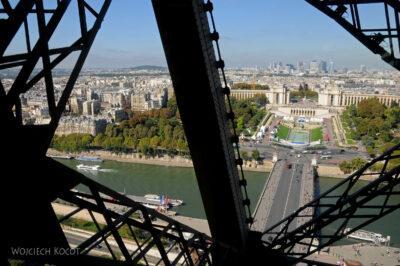 Por23103-Paryż - Widoki zWieży Eifla