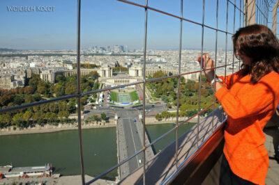 Por23110-Paryż - Widoki zWieży Eifla