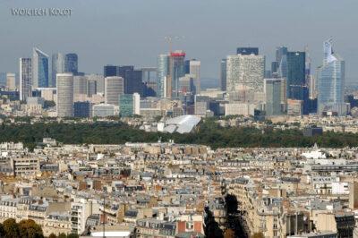 Por23113-Paryż - Wieża Eifla - widok NE (wieżowce)