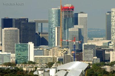 Por23115-Paryż - Wieża Eifla - widok NE (wieżowce)