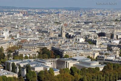 Por23120-Paryż - Widok zWieży Eifla