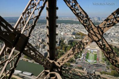 Por23129-Paryż - Wieża Eifla - detale