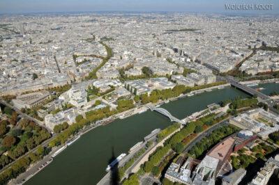 Por23137-Paryż - Widok zWieży Eifla