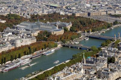 Por23142-Paryż - Widok zWieży Eifla