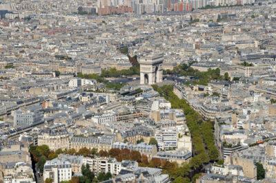 Por23152-Paryż - Widok zWieży Eifla