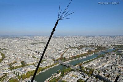 Por23154-Paryż - Widok zWieży Eifla