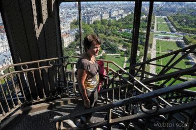 Por23168-Paryż - Kwa naWieży Eifla