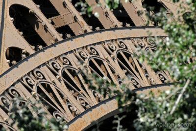 Por23178-Paryż - Wieża Eifla - detale