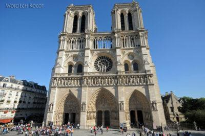 Por23189-Paryż - Notre-Dame - fasada E