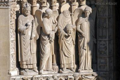 Por23213-Paryż - Notre-Dame - portal E