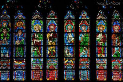Por23257-Paryż - Notre-Dame - witraże