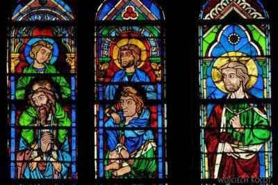 Por23258-Paryż - Notre-Dame - witraże