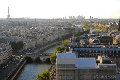 Por23292-Paryż - Notre-Dame - widoki zwieży